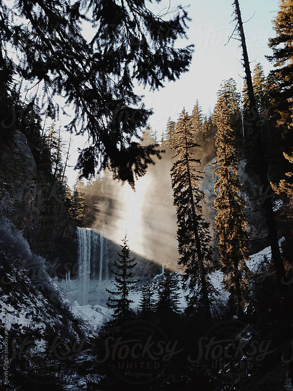 Tamawanas Falls, Mt. Hood National Forest by Kevin Gilgan for Stocksy United