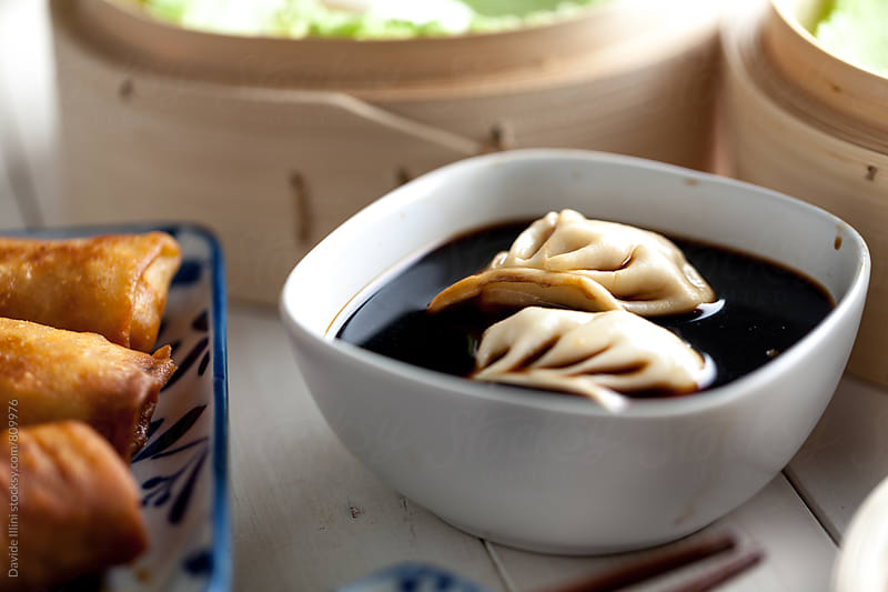 Chinese Dumpling by Davide Illini for Stocksy United