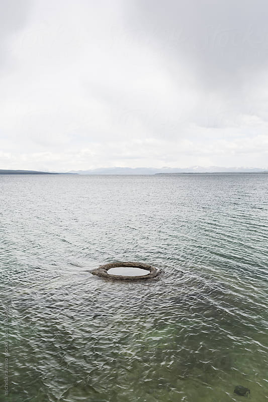 Fishing Hole in the Yellowstone lake by michela ravasio for Stocksy United