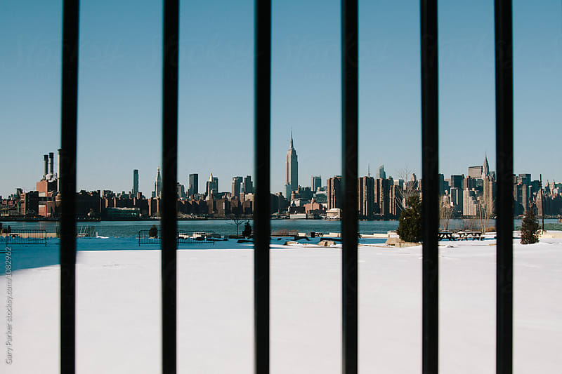 New York behind bars by Gary Parker for Stocksy United