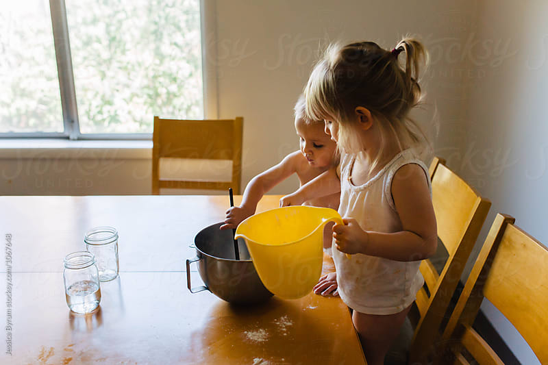 Pretend Baking by Jessica Byrum for Stocksy United