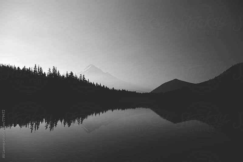 Mt. Hood  by Ali Lanenga for Stocksy United