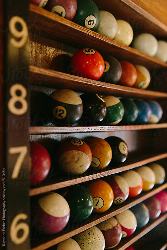 Billiard Balls by Raymond Forbes LLC for Stocksy United