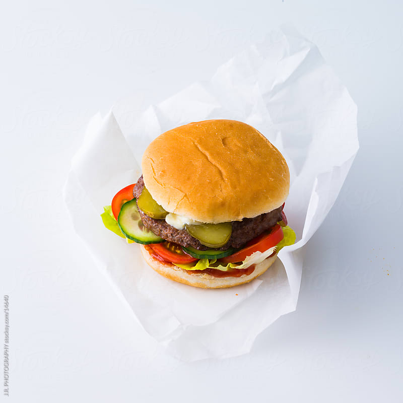 Burger by J.R. PHOTOGRAPHY for Stocksy United