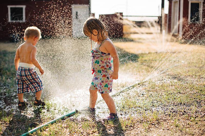 Broken Sprinkler by Jessica Byrum for Stocksy United