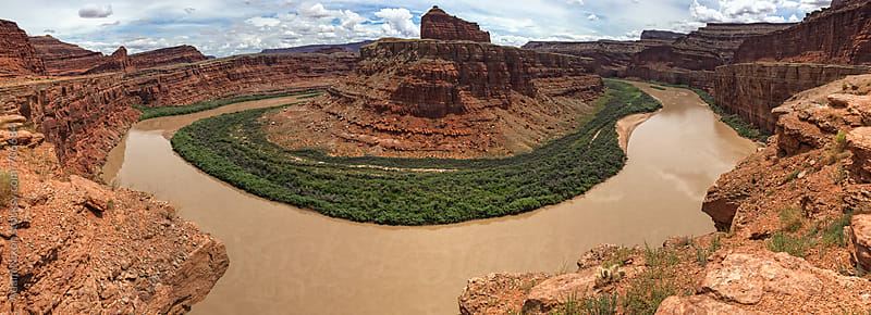 Colorado River in Canyonlands National Park by Adam Nixon for Stocksy United