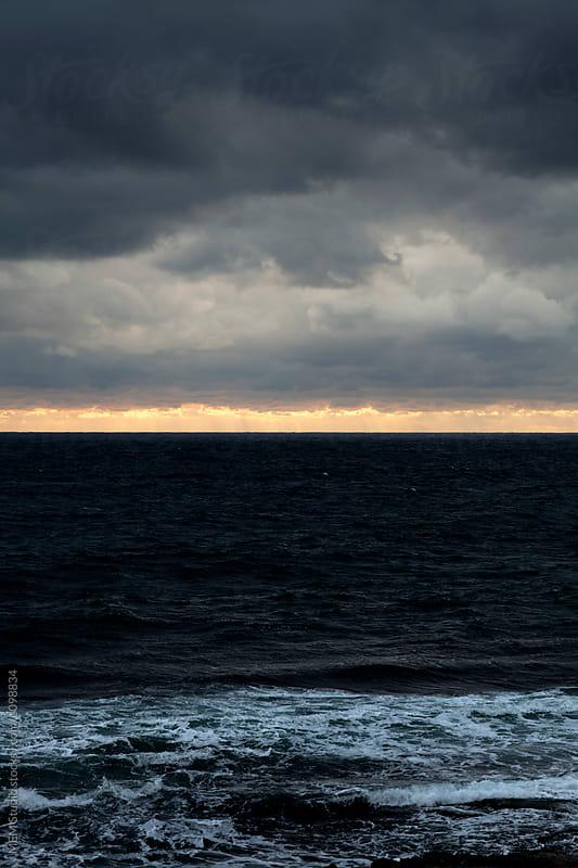 Stormy sea by MEM Studio for Stocksy United