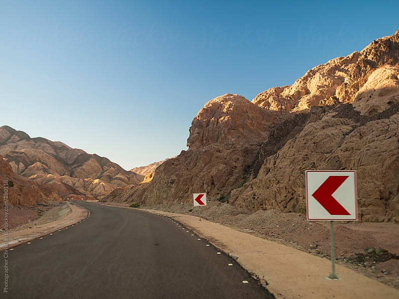 Dessert road by Photographer Christian B for Stocksy United
