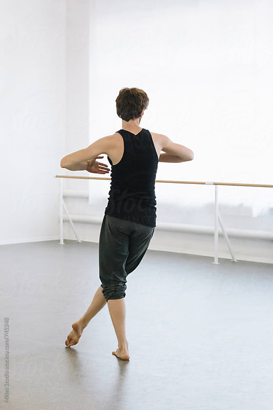 Male Ballet Dancer by Milles Studio for Stocksy United