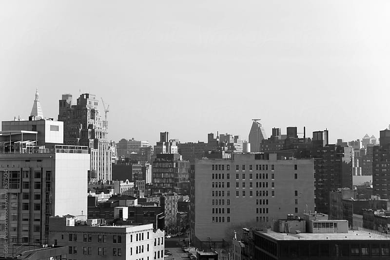 Overlook of Manhattan  by Eddie Pearson for Stocksy United