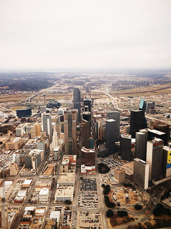 Aerial View of Dallas by B. Harvey for Stocksy United