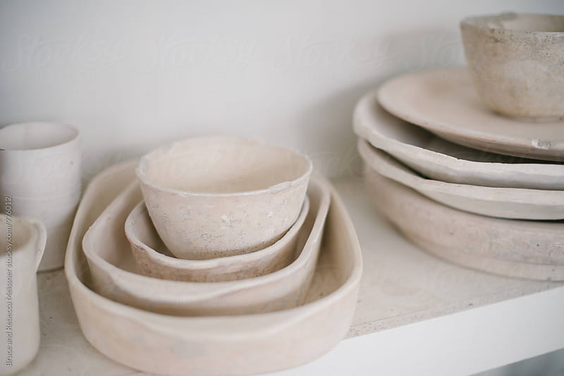 Ceramics by Bruce and Rebecca Meissner for Stocksy United