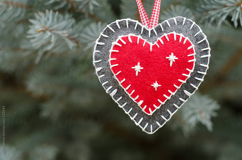 Handmade Heart Ornament by Julie Rideout for Stocksy United