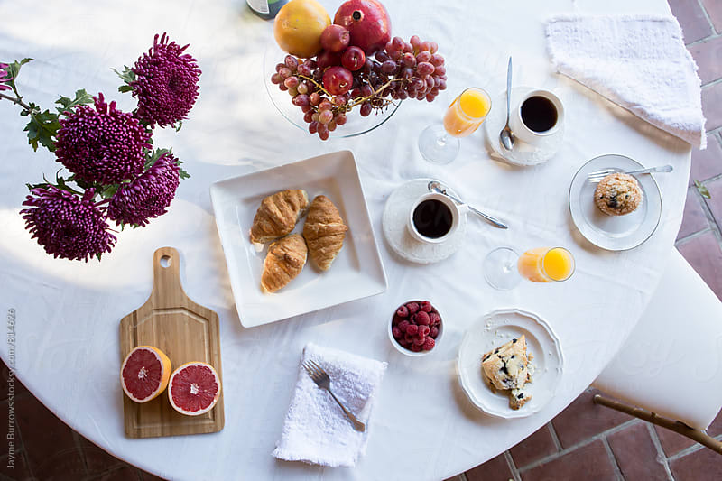 Luxury Breakfast by Jayme Burrows for Stocksy United
