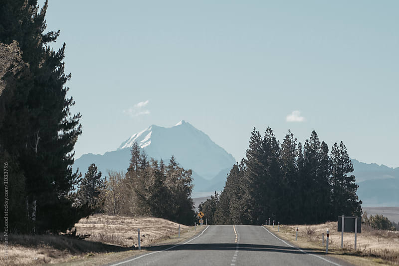 New Zealand roads. by Christian McLeod for Stocksy United
