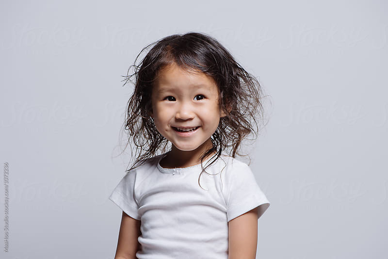 Studio shot of young Asian girl by MaaHoo Studio for Stocksy United