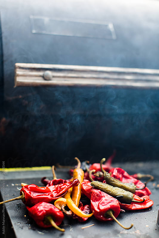 Grilling Peppers by Addie Mannan Photography for Stocksy United