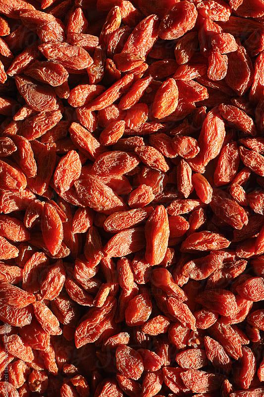 Dried goji berries by Marcel for Stocksy United