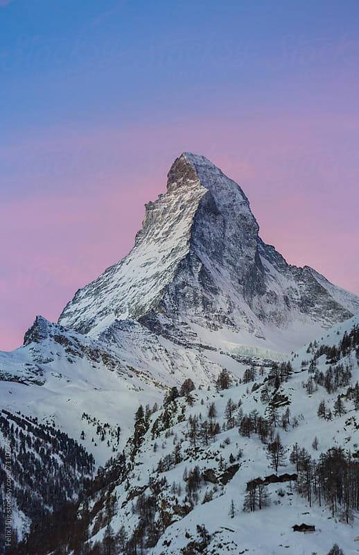 Matterhorn by Felix Hug for Stocksy United