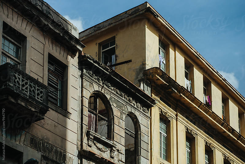 Architectural details from streets of Havana by Natasa Kukic for Stocksy United