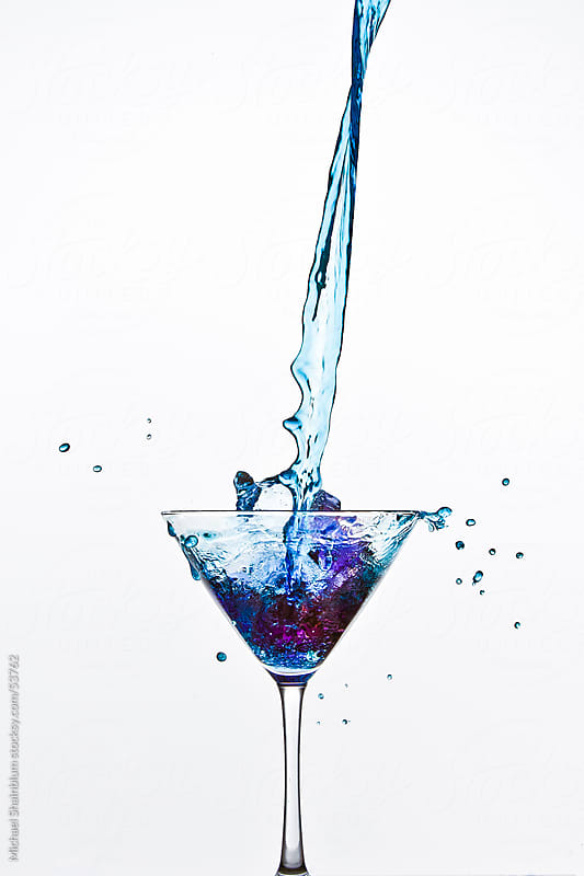 Beverage Splashes and Pours  by Michael Shainblum for Stocksy United