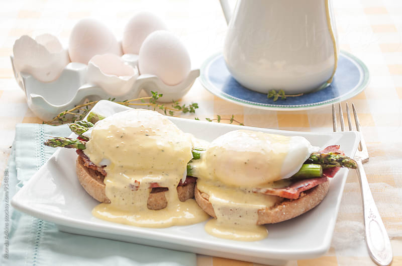 Eggs Benedict by Rhonda Adkins for Stocksy United