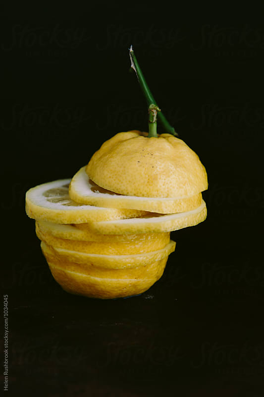 A lemon by Helen Rushbrook for Stocksy United