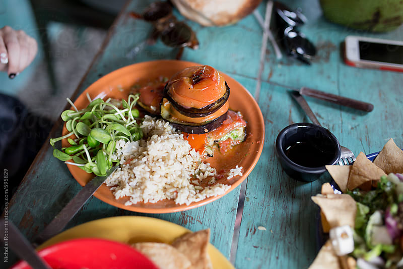 Vegan Meal in Tulum, Mexico by Nicholas Roberts for Stocksy United