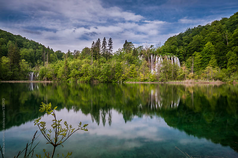 Plitvie Lakes Scenery by Andreas Wonisch for Stocksy United