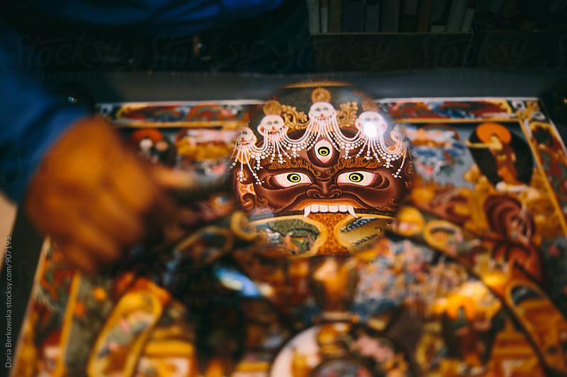Buddhist Mandala by Daria Berkowska for Stocksy United