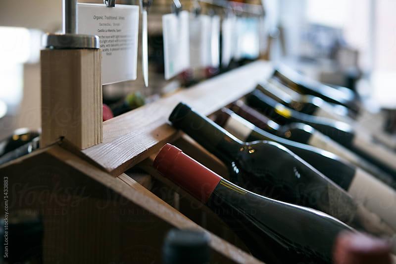 stock photo: wine selection