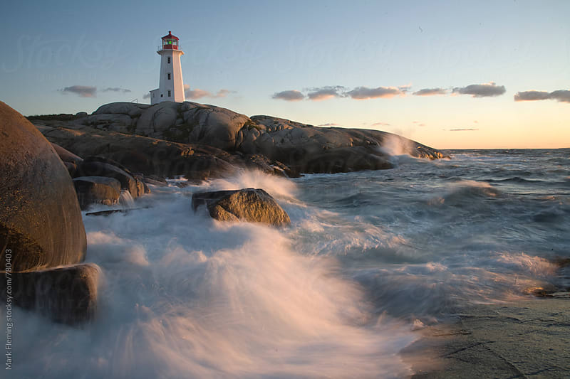 Peggys Cove 1 by Mark Fleming for Stocksy United