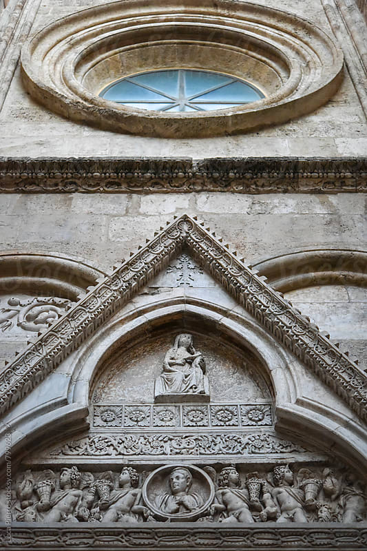 Facade of the Cathedral of Cagliari, Sardinia by Luca Pierro for Stocksy United