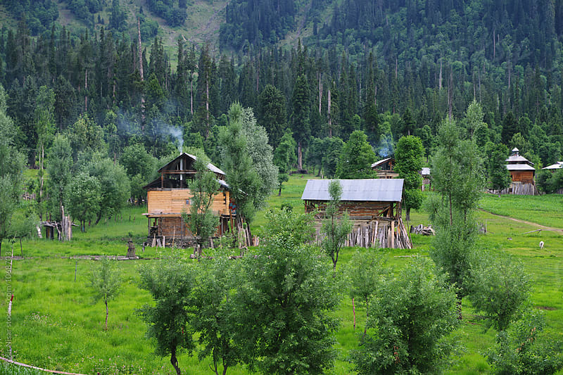 The beautiful summer landscape of Neelum Valley, Kashmir by Yasir Nisar for Stocksy United