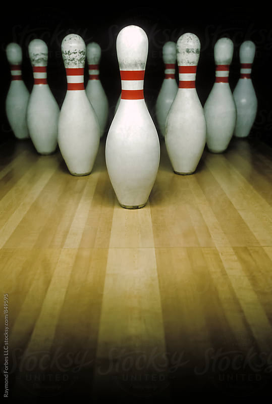 Bowling Pins by Raymond Forbes LLC for Stocksy United