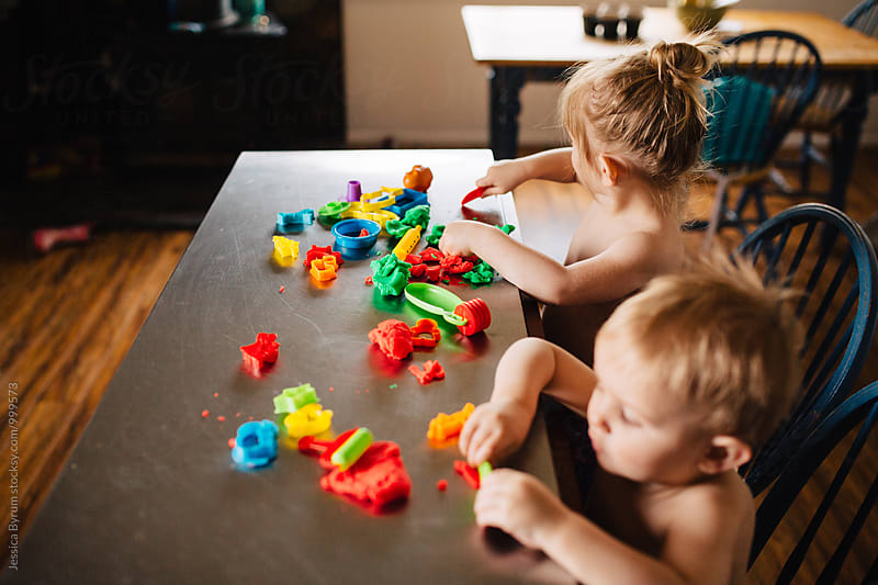 Play Dough Fun by Jessica Byrum for Stocksy United