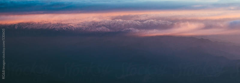 Himalaya mountain range  by RG&B Images for Stocksy United