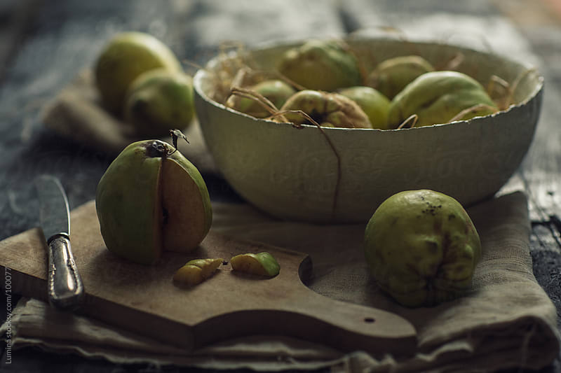 Organic Quinces by Lumina for Stocksy United