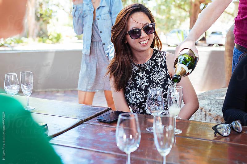 Wine Sampling by Hillary Fox for Stocksy United