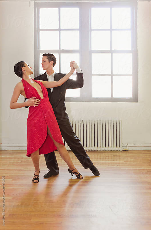 Ballroom Dancing - Couple in Argentinian Tango by Joselito Briones for Stocksy United