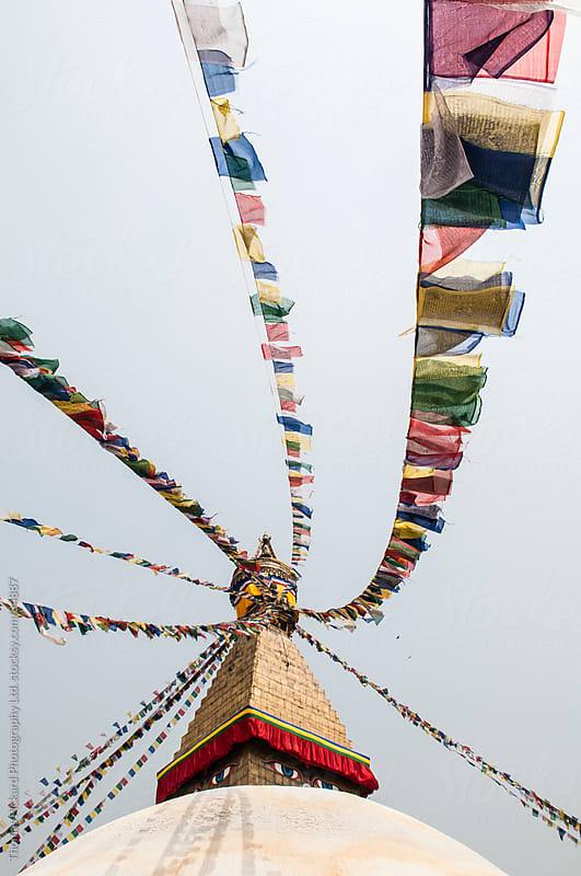 Bodhnath Stupa, Kathmandu, Nepal. by Thomas Pickard Photography Ltd. for Stocksy United