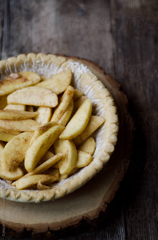 apple pie by Crissy Mitchell for Stocksy United