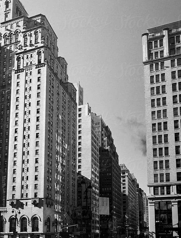 Manhattan Architecture in the early morning light by Cameron Whitman for Stocksy United
