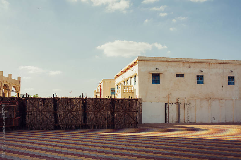 Old houses in Doha by Maja Topcagic for Stocksy United
