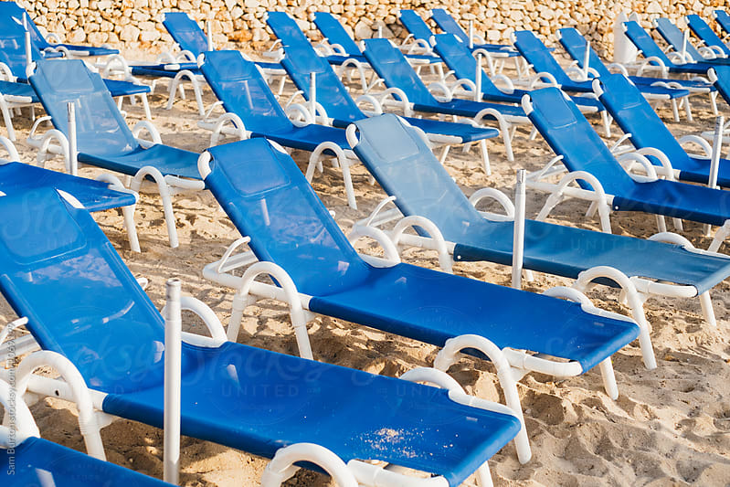 Beach chairs by Sam Burton for Stocksy United