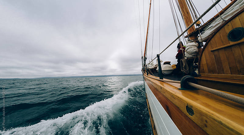 sailing in the nordic sea by Juri Pozzi for Stocksy United