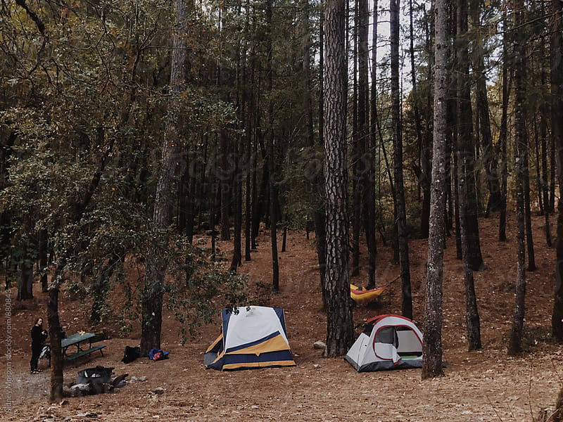 Whiskeytown Camping by Sidney Morgan for Stocksy United