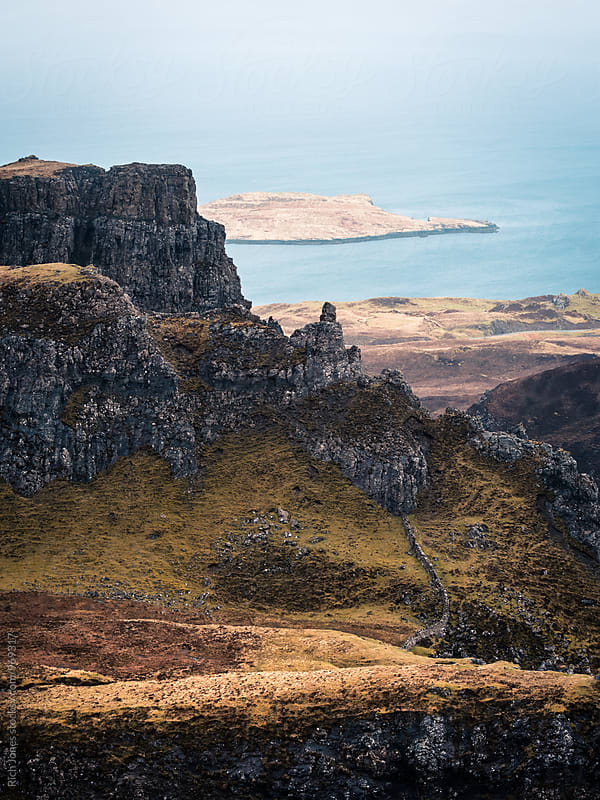 The Quiraing, Isle of Skye, Scotland by Rich Jones for Stocksy United