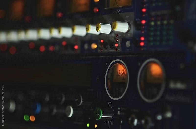 Music studio by Marija Anicic for Stocksy United
