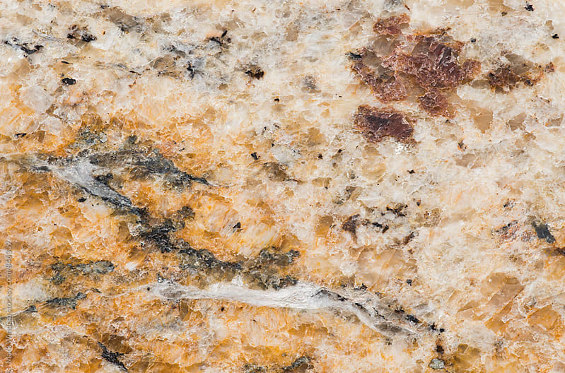 Granite countertop, closeup by Mark Windom for Stocksy United